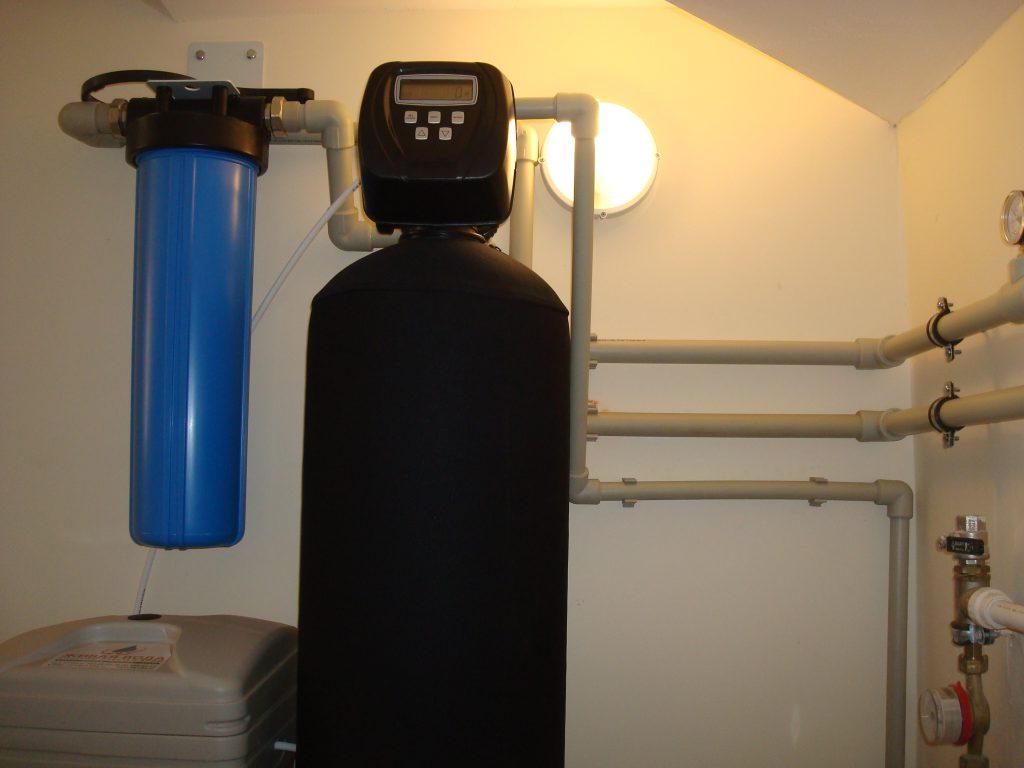 умягчение воды в коттедже