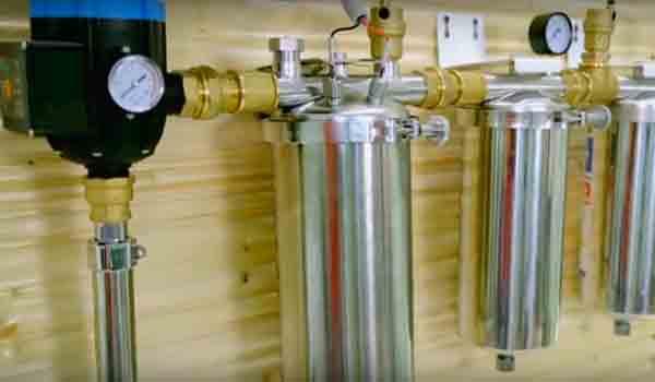 Механический способ очистки воды